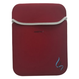 Amkette Neo Cool Sleeve for 13.3 Inch Laptop (141RD, Red)_1