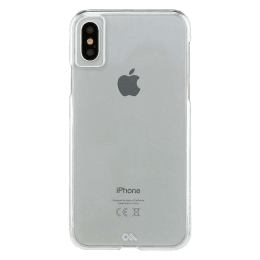 Case-Mate Barely There Polycarbonate Back Case Cover for Apple iPhone X (CM036238, Clear)_1