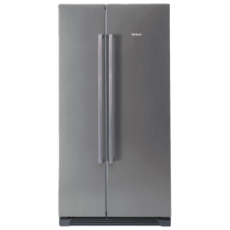 Bosch 618 L Frost Free Double Door Side-by-Side Refrigerator (KAN56V40NE, Inox)_1