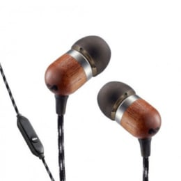 Marley Smile Jamaica In-Ear Wired Earphones with Mic (EM-JE041-MI, Midnight Black)_1