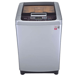 LG 6.2 kg Fully Automatic Top Loading Washing Machine (T7269NDDLR, Silver)_1