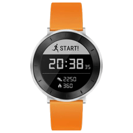 Huawei Fit Small Fitness Tracker (Heart Rate Monitoring , MES-B19, Black/Orange, Sport Band)_1