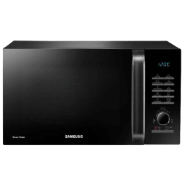 Samsung 28 Liters Convection Microwave Oven (Moisture Sensor, MC28H5145VK/TL, Black)_1