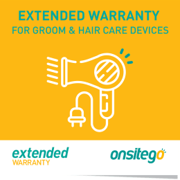 Onsitego 1 Year Extended Warranty for Grooming & Hair Care (Rs.2500 - Rs.5000)_1