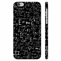 Enthopia Einstein's Energy Polycarbonate Back Case Cover for Apple iPhone 6 Plus (ED-5001 iPhn6+, Black/White)_1