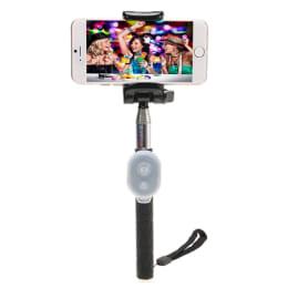 AirPlus Premium Selfie Stick with Bluetooth Remote (AP-ASP-704, Black)_1