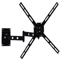 RD Plast 32-50 inch Swivel Wall Mount TV Stand (Black)_1