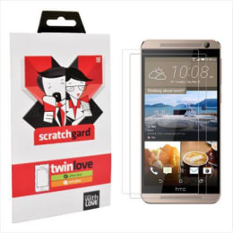 Scratchgard Twin Pack Screen Protector for HTC One E9 (Clear)_1