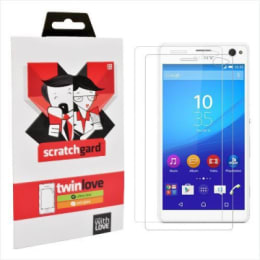 Scratchgard Twin Pack Screen Protector for Sony Xperia C4 (Transparent)_1