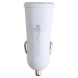Boompods Carpods 3.4 A Dual USB Car Charger (BP-CP-3.4-WHT, White)_1
