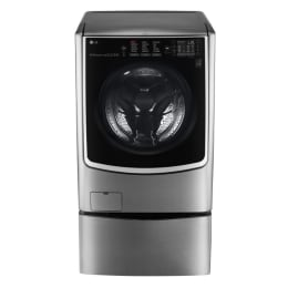 LG 21/12 kg Fully Automatic Front Loading Twin Wash Washing Machine (F0K4CHK2T2/F70E1UDNK1, Silver)_1