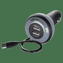 Boompods Carpod In-Car Charger (BP-CP-3.4-BLK, Black)_1
