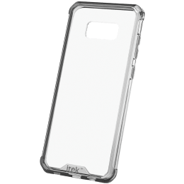 itek Air Hybrid TPU Back Case Cover for Samsung Galaxy S8 (PCS8_BC, Black Clear)_1