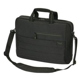 Targus EcoSmart Emerald GREEN Sling Bag for 16 Inch Laptop (TBT249AP-50, Black)_1