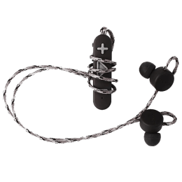 Boompods Retrobuds Bluetooth Earphones with Mic (Black)_1
