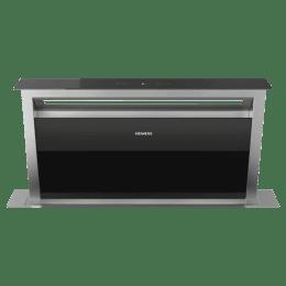 Siemens iQ700 710 m³/hr 90cm DownDraft Hood Chimney (Softlight with Dimmer Function, LD97AA670B, Black)_1