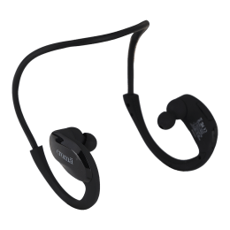 Croma In-Ear Wireless Bluetooth Earphones (High Resolution Sound, EA7295 HBT002, Black)_1