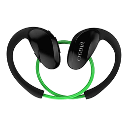 Croma In-Ear Wireless Bluetooth Earphones (High Resolution Sound, EA7295 HBT002, Green/Black)_1