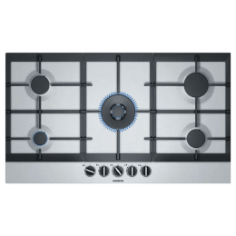 Siemens iQ500 5 Burner Stainless Steel Built-in Gas Hob (StepFlame Technology, EC9A5RB90, Stainless Steel)_1