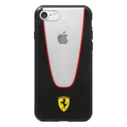 Ferrari Aperta TPU Back Case Cover for Apple iPhone 7 (SW-773, Black/White)_1
