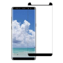 Stuffcool Mighty 3D Curved Full Screen Tempered Glass Screen Protector for Samsung Galaxy Note 8 (MGGP3DSGN8, Black)_1
