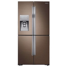 Samsung RF56K9040DP/TL 655 Litres Side by Side Refrigerator (Bronze)_1