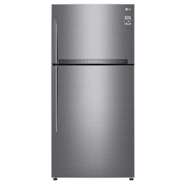 LG 630 L 3 Star Frost Free Double Door Inverter Refrigerator (GR-H812HLHU, Stainless Steel)_1