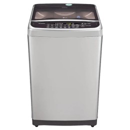 LG 7 kg Fully Automatic Top Loading Washing Machine (T8077NEDLY, Silver)_1
