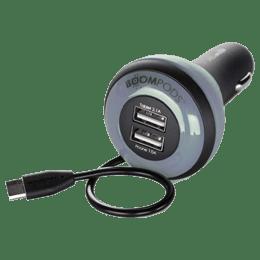 Boompods Carpod In-Car Charger (BP-CP-2.4-BLK, Black)_1