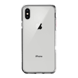 Stuffcool Arc Fab Silicone Soft Back Case Cover for Apple iPhone X (ACFIPX-CLR, Transparent)_1