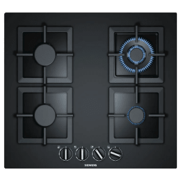 Siemens iQ500 4 Burner Tempered Glass Built-in Gas Hob (StepFlame Technology, EP6A6HB20, Black)_1