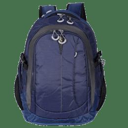 Sky Bags Fox Business Polyester Laptop Backpack (LPBPFOBHBLU, Blue)_1