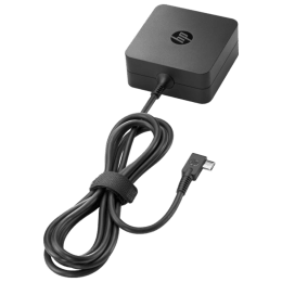 HP 45 Watt Type-C AC Adapter with Cable (WD548AA, Black)_1