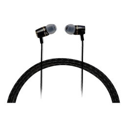 Croma In-Ear Wired Earphones with Mic (CREA7293 VT-C60, Black)_1