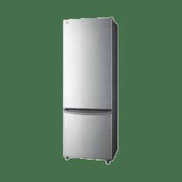 Panasonic 342 L 2 Star Frost Free Double Door Inverter Refrigerator (NR-BR347RSX1, Silver)_1