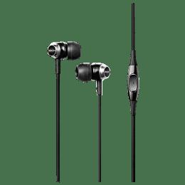 Denon In-Ear Wired Earphones with Mic (AH-C50, Black)_1