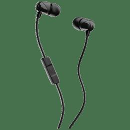 Skullcandy Jib In-Ear Wired Earphones with Mic (S2DUYK-343, Black)_1