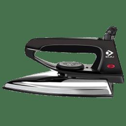 Bajaj 600 Watt Dry Iron (440210, Black)_1