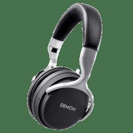 Denon AH-GC20 Globe Cruiser Noise Cancelling Bluetooth Headphones (Black)_1