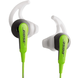 Bose SoundSport In-Ear Wired Earphones for iOS Devices with Mic (717534-0030, Green)_1