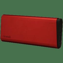 Croma 10000 mAh Power Bank (CA0075 EPU105, Red)_1