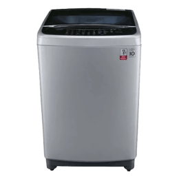 LG 8 kg Fully Automatic Top Loading Washing Machine (T9077NEDL1, Silver)_1