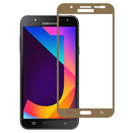 Stuffcool Mighty Tempered Glass Screen Protector for Samsung Galaxy J7 Nxt (MGGP25DSGJ7NXT, Gold)_1