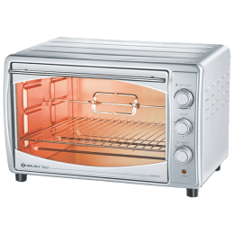 Bajaj 45 Litres Oven Toaster Griller (4500TMCSS, Stainless Steel)_1
