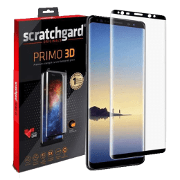 Scratchgard Tempered Glass Screen Protector for Samsung Galaxy Note 8 (Black)_1