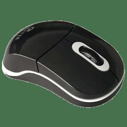 Amkette Fio 1000 DPI Bluetooth Wireless Optical Mouse (632BK, Black)_1