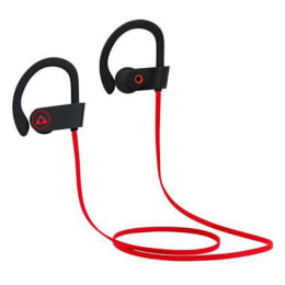 Stuffcool Louis In-Ear Bluetooth Earphones with Mic (LSBTH-RBLK, Red/Black)_1