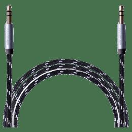 Boompods Retro 100 cm 3.5mm Stereo Aux Cable (BP-RCAX, Black)_1