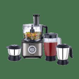 Bajaj 1000 Watt Food Processor (FX-1000, Black/Silver)_1