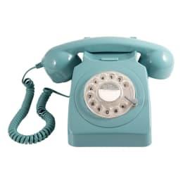 GPO 746 Rotary Corded Telephone (GPO-RDTP-BLU, Blue)_1